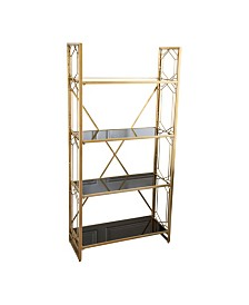 Gia 4-Tier Shelf, Quick Ship