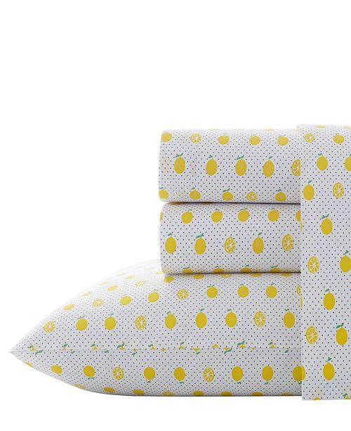 Poppy & Fritz Lemons Sheet Set, Full