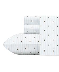 Poppy & Fritz Bumble Bees Sheet Set, Twin XL