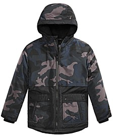 Big Boys Camo-Print Snorkel Jacket