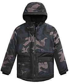Michael Michael Kors Big Boys Camo-Print Snorkel Jacket