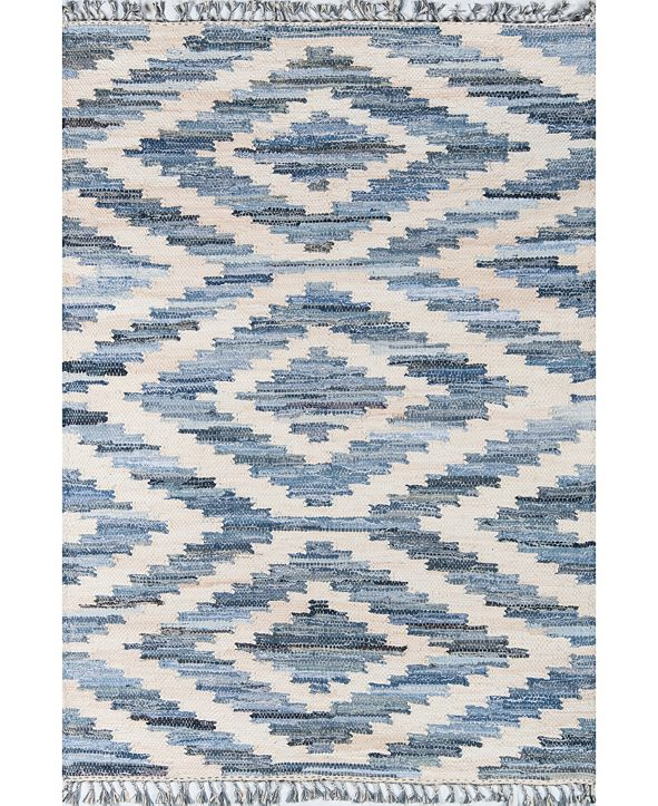 Novogratz California Cal-2 Blue 2' x 3' Area Rug