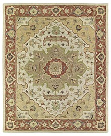 Solomon Micah-54 Gold 9' x 12' Area Rug