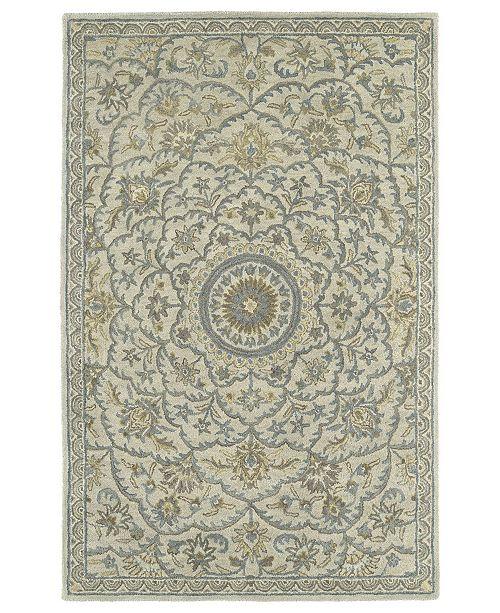 Kaleen Solomon Nehemiah-55 Ivory 8' x 10' Area Rug
