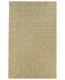 Imprints Modern IPM03-28 Yellow 8' x 11' Area Rug