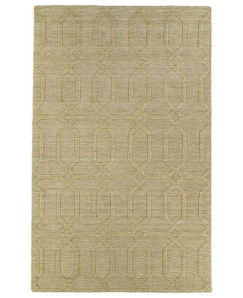 Kaleen Imprints Modern IPM03-28 Yellow 8' x 11' Area Rug