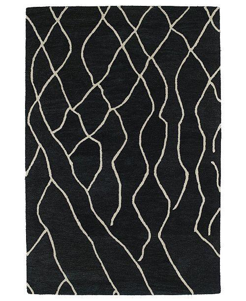 Kaleen Casablanca CAS03-38 Charcoal 2' x 3' Area Rug