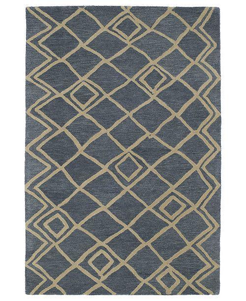 Kaleen Casablanca CAS04-17 Blue 5' x 8' Area Rug