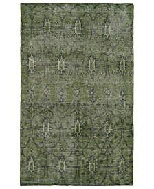 Restoration RES01-50 Green 8' x 10' Area Rug