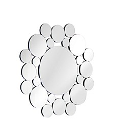 Mirage Bubbles Round Wall Mirror