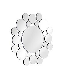 Abbyson Living Mirage Bubbles Round Wall Mirror