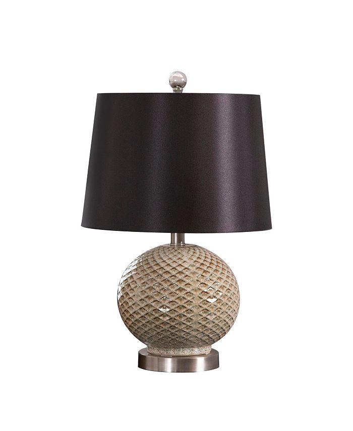 Abbyson Living - Montgomery Ceramic Textured Table Lamp