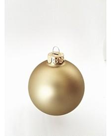 "1.5"" Glass Christmas Ornaments - Box of 40"