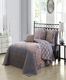 Amber 9 Pc King Quilt Set