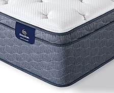 "Sleeptrue Alverson II 13"" Plush Euro Top Mattress- Queen"