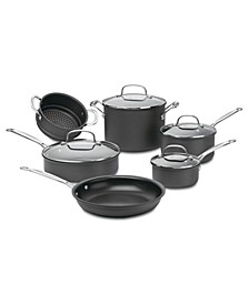 Chefs Classic Hard Anodized 10-Pc. Set