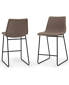 Ridley Counter Stool, Quick Ship (Set of 2)