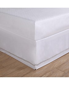 Lux Hotel Baratta Embroidered Queen Bed Skirt