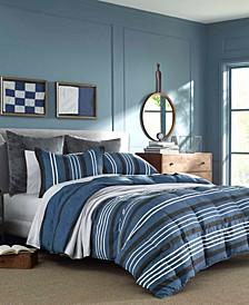 Valmont Navy Comforter Set, King