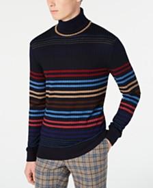 Paisley & Gray Men's Multi-Stripe Turtleneck