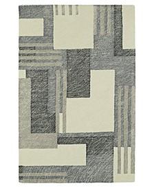 "Montage MTG04-01 Ivory 5' x 7'9"" Area Rug"