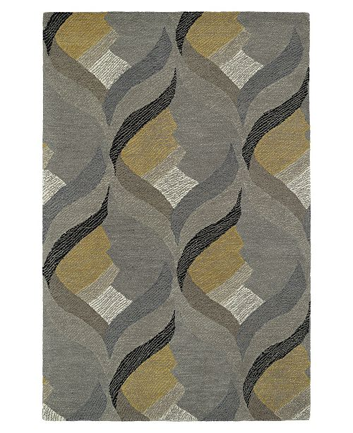 Kaleen Montage MTG06-75 Gray 2' x 3' Area Rug