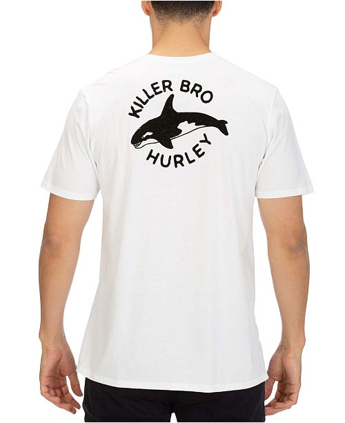 Hurley Men's Killer Bro Graphic Pocket T-Shirt