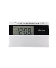 Global Atomic Radio Control World Time Travel Alarm Clock