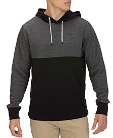 Men's Crone Textured Colorblock Hoodie