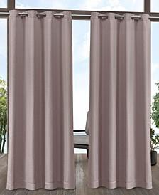 """Aztec Indoor/Outdoor Grommet Top Curtain Panel Pair, 54"""" x 84"""""""