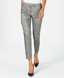Anne Klein Extended-Tab Pants