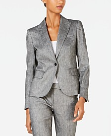 Anne Klein One-Button Jacket