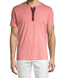 Jack & Jones Men's Summer T-shirt with Three button Granded