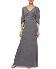 Alex Evenings Allover-Glitter Column Dress