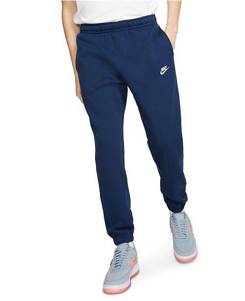 Nike Men's Club Fleece Closed Bottom Pants