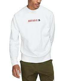 Nike Men's Crew Fleece Just Do It Sweatshirt