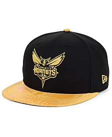New Era Charlotte Hornets Gold Viz 9FIFTY Cap