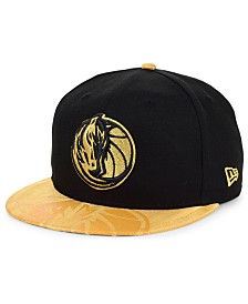 New Era Dallas Mavericks Gold Viz 9FIFTY Cap