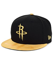 New Era Houston Rockets Gold Viz 9FIFTY Cap