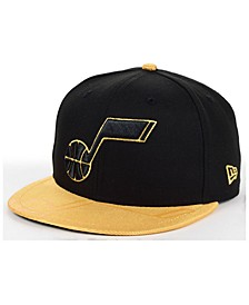 Utah Jazz Gold Viz 9FIFTY Cap