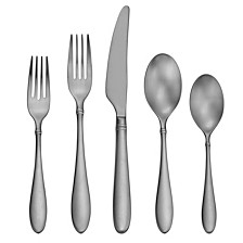 Satin Arlo 20-PC Flatware Set, Service for 4