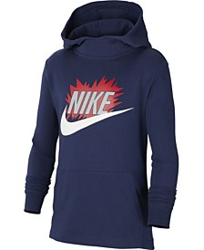 Nike Big Boys Logo Graphic Hoodie