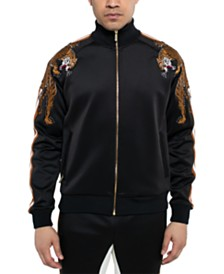Sean John Men's Crawling Tiger Jacket
