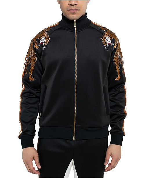 Sean John Men's Crawling Tiger Jacket