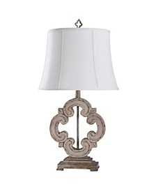 Tuscany Cream 30in Traditional Cast Table Lamp
