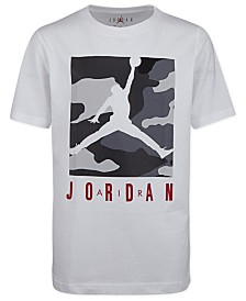 Jordan Big Boys Camouflage Box Knock Out Graphic T-Shirt