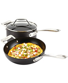"Essentials Nonstick 10.5"" Fry Pan and 4-Qt. Covered Saucepan Set"