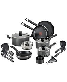 18-Pc. Nonstick Cookware Set