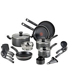 T-Fal 18-Pc. Nonstick Cookware Set