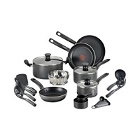 Deals on T-Fal 18-Pc. Nonstick Cookware Set